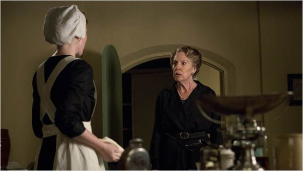 Downton Abbey : photo Penelope Wilton