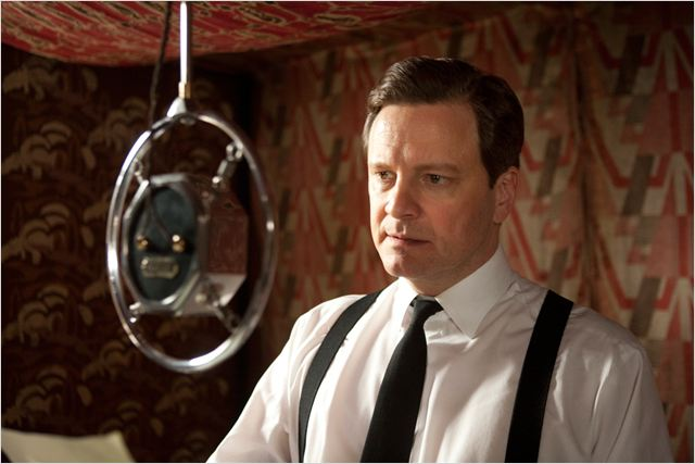 Le Discours d'un roi : photo Colin Firth, Tom Hooper