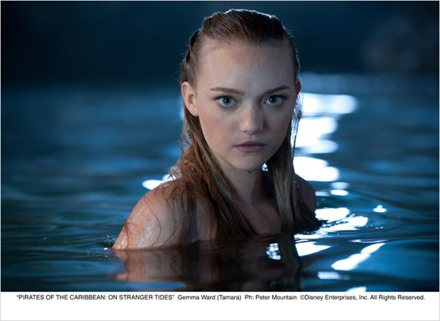 Pirates des Caraïbes : la Fontaine de Jouvence : photo Gemma Ward, Rob Marshall