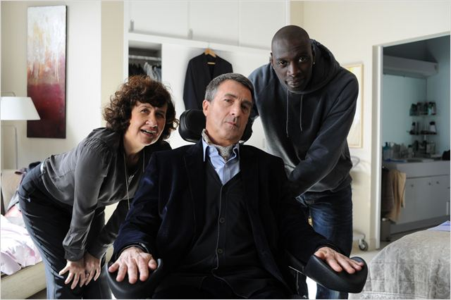 Intouchables : Photo Anne Le Ny, François Cluzet, Omar Sy