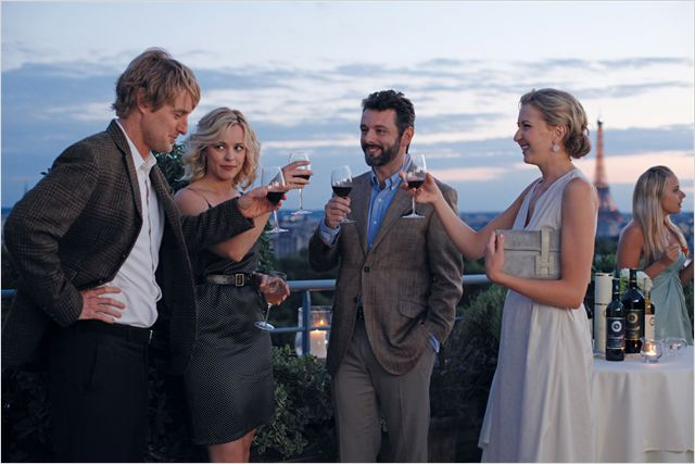 Minuit à Paris : photo Michael Sheen, Nina Arianda, Owen Wilson, Rachel McAdams, Woody Allen