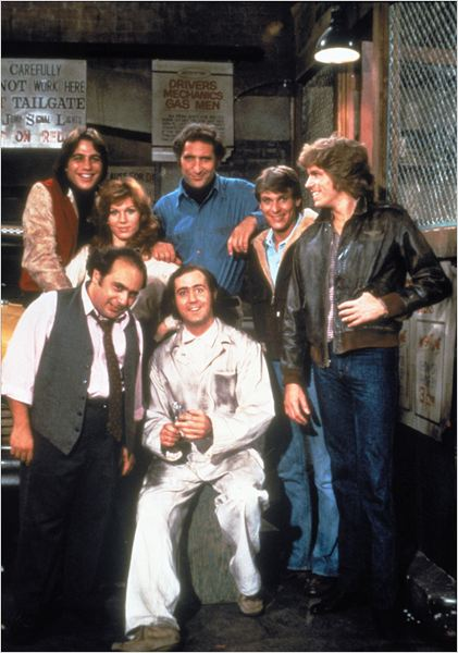 Taxi : photo Andy Kaufman, Danny DeVito, Jeff Conaway, Judd Hirsch, Marilu Henner