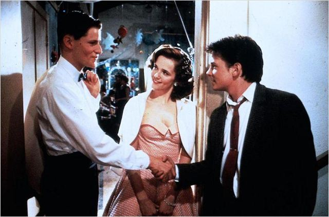 Retour vers le futur : photo Crispin Glover, Lea Thompson, Michael J. Fox, Robert Zemeckis