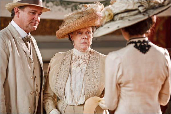 Downton Abbey : Photo Elizabeth McGovern, Hugh Bonneville, Maggie Smith