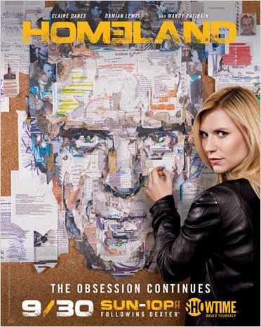 Homeland : photo Claire Danes