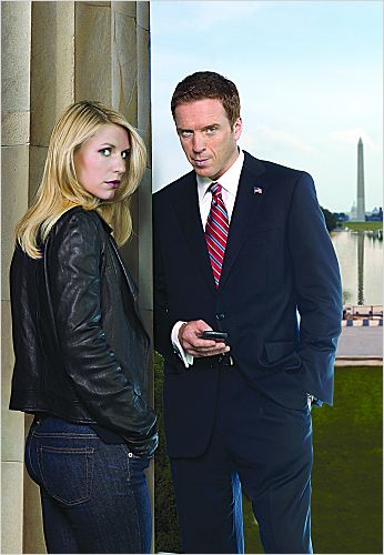 Homeland : photo Claire Danes, Damian Lewis