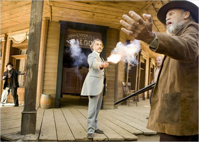 Django Unchained : Photo Christoph Waltz
