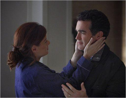Photo Brian d'Arcy James, Debra Messing