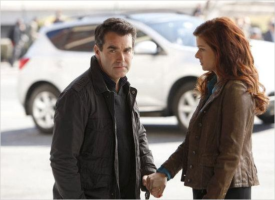 Smash : photo Brian d'Arcy James, Debra Messing