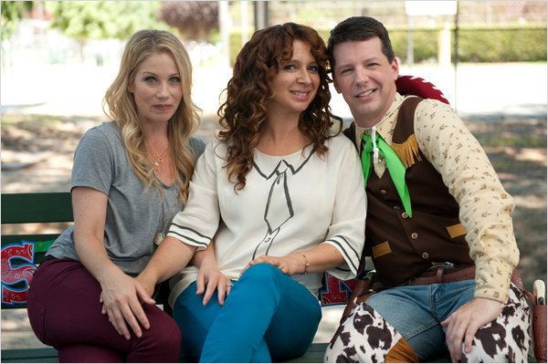 Up All Night : photo Christina Applegate, Maya Rudolph, Sean Hayes