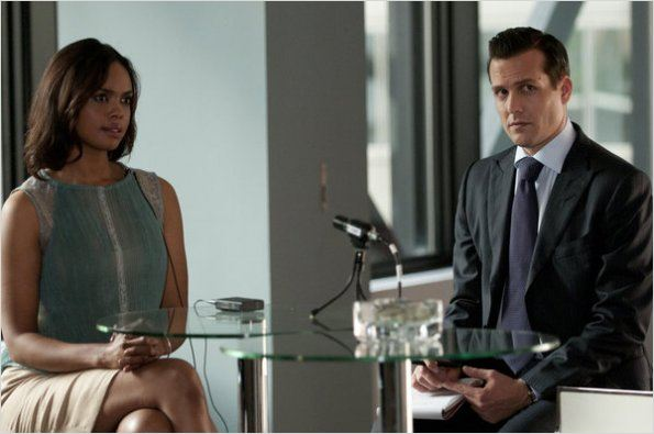 Suits, avocats sur mesure : photo Gabriel Macht, Sharon Leal