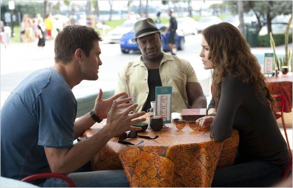 Photo Geoff Stults, Michael Clarke Duncan, Saffron Burrows