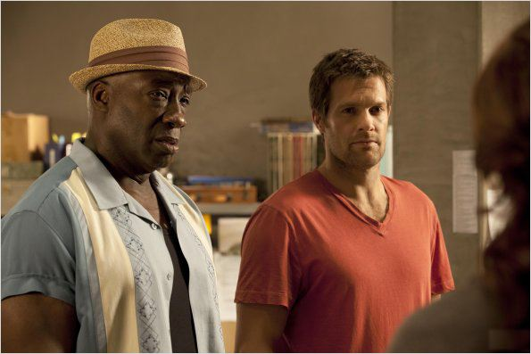 Photo Geoff Stults, Michael Clarke Duncan