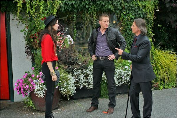 Photo Josh Dallas, Meghan Ory, Robert Carlyle