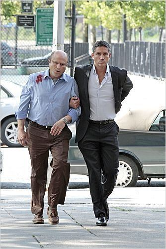 Person of Interest : photo Enrico Colantoni, Jim Caviezel