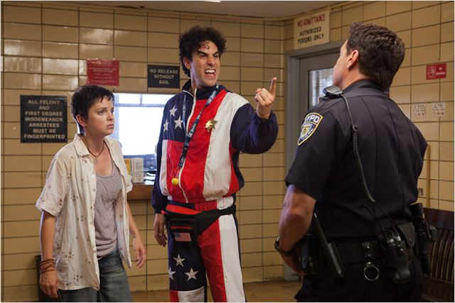 The Dictator : Photo Anna Faris, Larry Charles, Sacha Baron Cohen