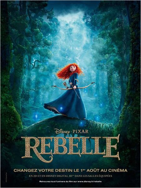 Rebelle : affiche