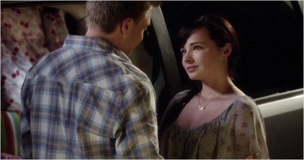 Photo Ashley Rickards, Brett Davern