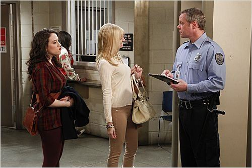 2 Broke Girls : photo Beth Behrs, Dan Warner, Kat Dennings