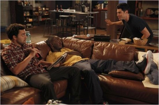 Photo Jake Johnson, Lamorne Morris, Max Greenfield