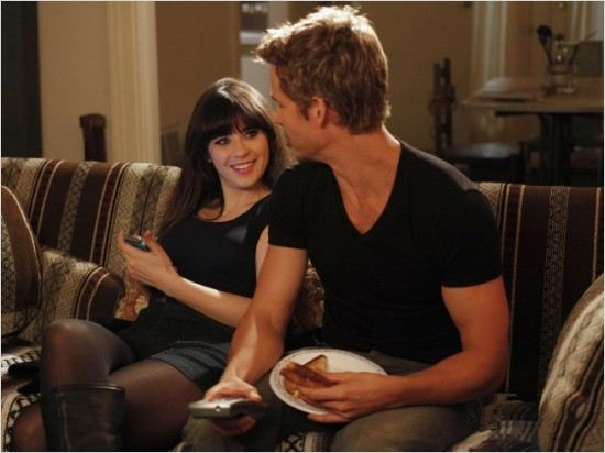 New Girl : photo Ryan Kwanten, Zooey Deschanel