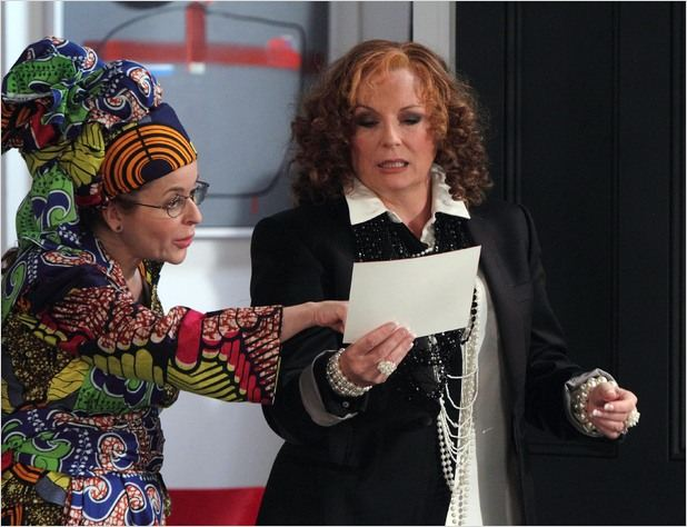 Absolutely Fabulous : photo Jennifer Saunders, Julia Sawalha