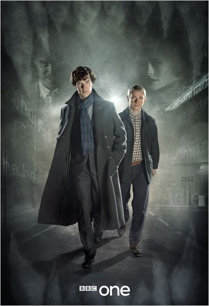 Photo Benedict Cumberbatch, Martin Freeman