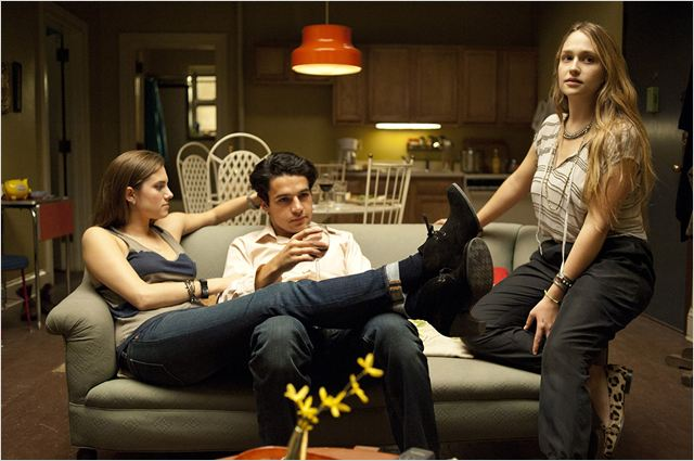 Girls : photo Allison Williams, Christopher Abbott, Jemima Kirke