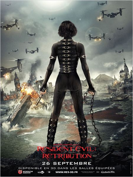 Resident Evil: Retribution : affiche