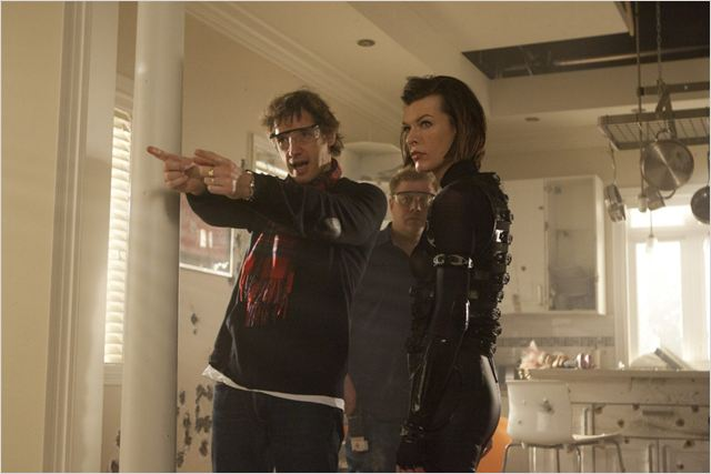 Resident Evil: Retribution : photo Milla Jovovich, Paul W.S. Anderson
