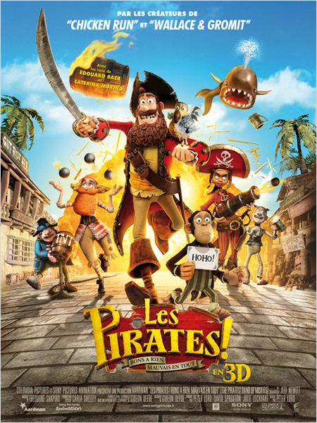 Les Pirates ! Bons &#224; rien, Mauvais en tout : affiche