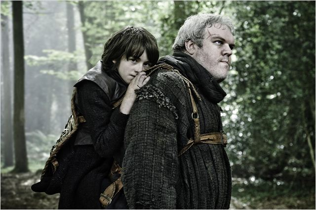 Game of Thrones : photo Isaac Hempstead-Wright, Kristian Nairn