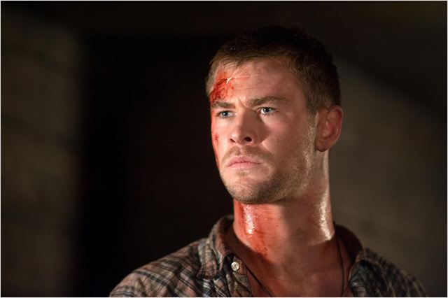 La Cabane dans les bois : photo Chris Hemsworth