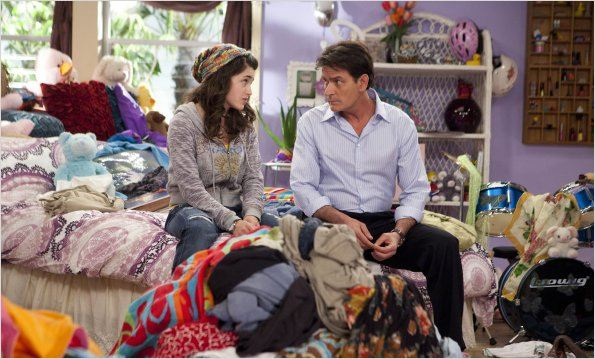 Photo Charlie Sheen, Daniela Bobadilla