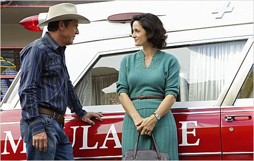 Vegas (2012) : photo Carrie-Anne Moss, Dennis Quaid