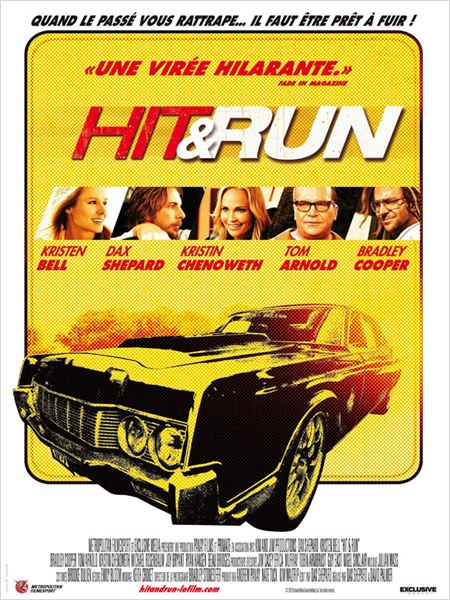 Hit and run : Affiche