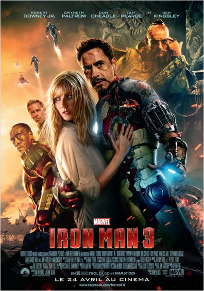 Iron Man 3 [DVD-R5]