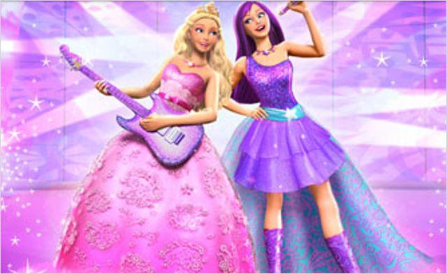Barbie la princesse et la popstar photo allocin - Barbie et la princesse pop star ...