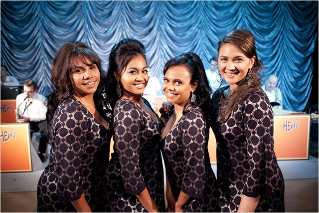 Les Saphirs : Photo Deborah Mailman, Jessica Mauboy, Miranda Tapsell, Shari Sebbens