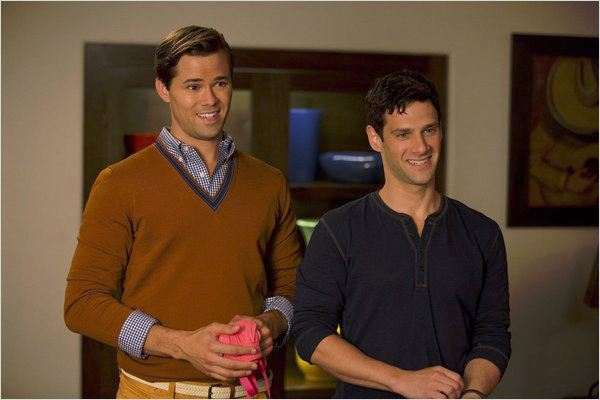 Photo Andrew Rannells, Justin Bartha