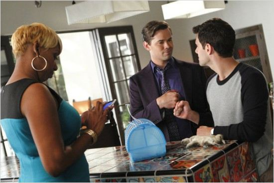 The New Normal : photo Andrew Rannells, Justin Bartha, NeNe Leakes