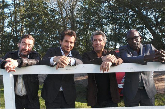 Turf : Photo Alain Chabat, Edouard Baer, Lucien Jean-Baptiste, Philippe Duquesne