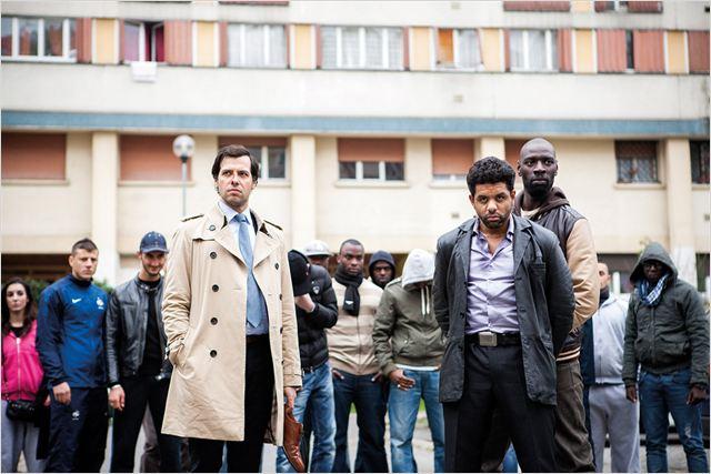 De l'autre côté du périph : photo Laurent Lafitte, Omar Sy