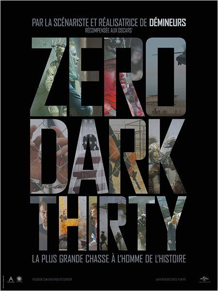 Zero Dark Thirty : affiche