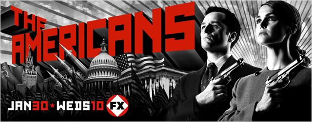 The Americans (2013) : affiche Keri Russell, Matthew Rhys