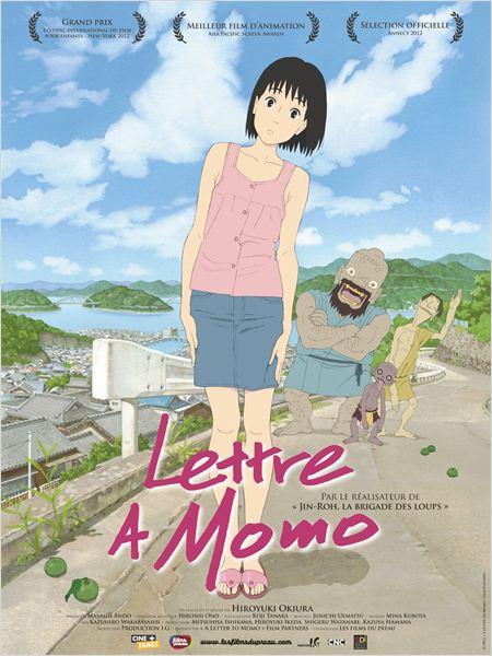 Lettre à Momo : Affiche