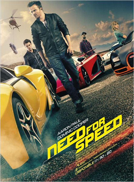 Telecharger Need for Speed  Blu-Ray 720p  TrueFrench Gratuitement