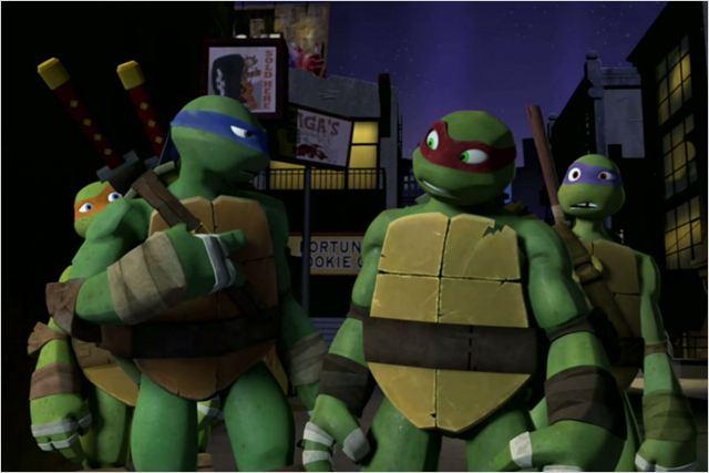 Les tortues ninja 2012 photo 23 sur 25 allocine for Repere des tortue ninja