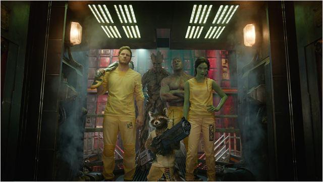 Les Gardiens de la Galaxie : Photo Bradley Cooper, Chris Pratt, Dave Bautista, Vin Diesel, Zoe Saldana