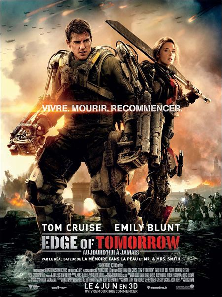 Telecharger Edge Of Tomorrow  FRENCH BDRIP Gratuitement